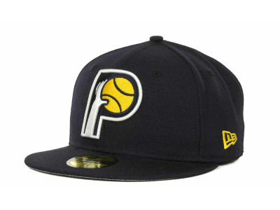 Indiana Pacers NBA Hardwood Classics Basis 59FIFTY Cap Hats