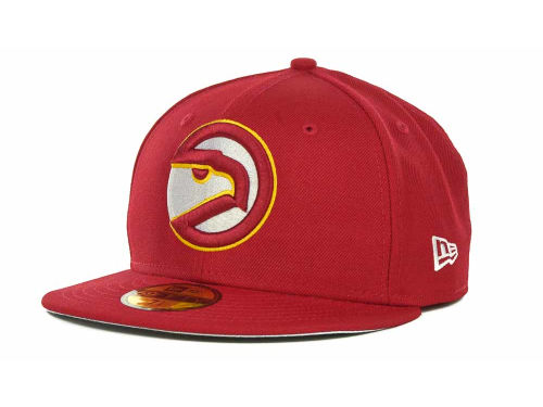 Atlanta Hawks New Era NBA Hardwood Classics Basis 59FIFTY Cap Hats