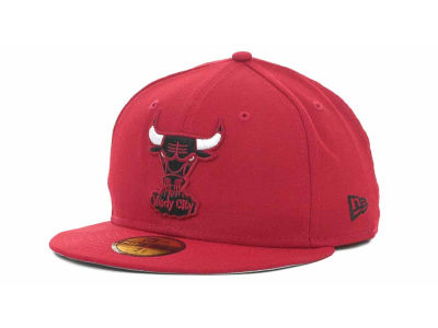 Chicago Bulls NBA Hardwood Classics Basis 59FIFTY Cap Hats