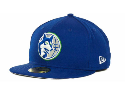 Minnesota Timberwolves NBA Hardwood Classics Basis 59FIFTY Cap Hats