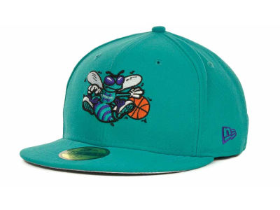 Charlotte Hornets NBA Hardwood Classics Basis 59FIFTY Cap Hats
