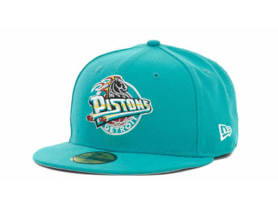 Detroit Pistons NBA Hardwood Classics Basis 59FIFTY Cap Hats
