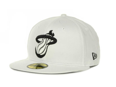 Miami Heat NBA Hardwood Classics Basis 59FIFTY Cap Hats
