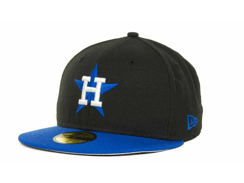 Houston Astros New Era MLB 2T Custom 59FIFTY Hats