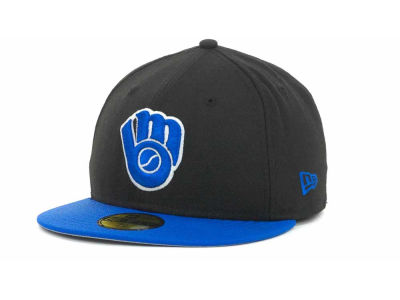 Milwaukee Brewers MLB 2T Custom 59FIFTY Hats