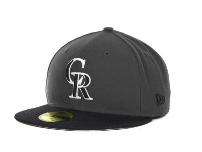 Colorado Rockies MLB 2T Custom 59FIFTY Hats