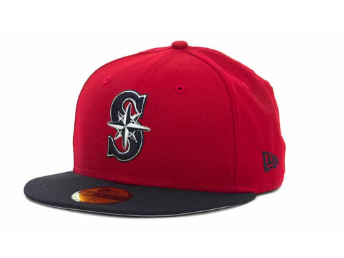 Seattle Mariners New Era MLB 2T Custom 59FIFTY Hats