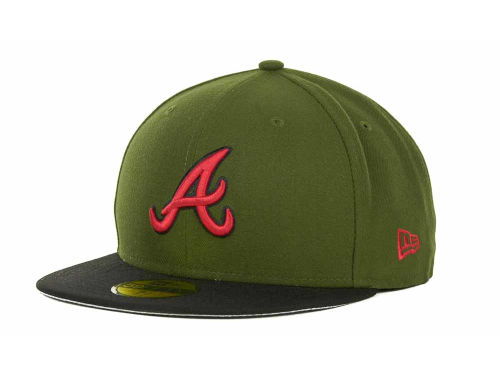 Atlanta Braves New Era MLB Sneak Up 59FIFTY Cap Hats