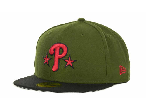 Philadelphia Phillies New Era MLB Sneak Up 59FIFTY Cap Hats