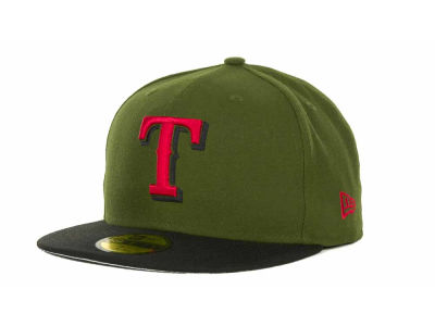 Texas Rangers MLB Sneak Up 59FIFTY Cap Hats