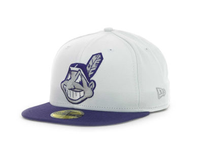Cleveland Indians MLB Sneak Up 59FIFTY Cap Hats