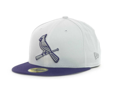 St. Louis Cardinals New Era MLB Sneak Up 59FIFTY Cap Hats