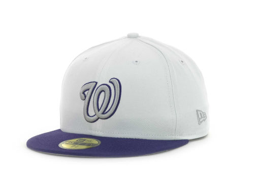 Washington Nationals New Era MLB Sneak Up 59FIFTY Cap Hats