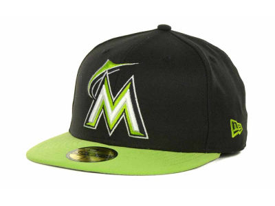 Miami Marlins MLB POP Series 59FIFTY Cap Hats