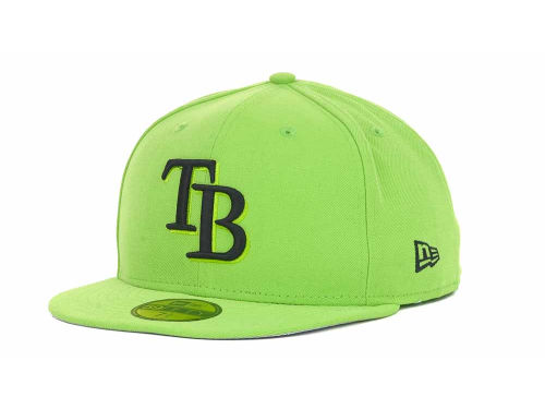 Tampa Bay Rays New Era MLB POP Series 59FIFTY Cap Hats