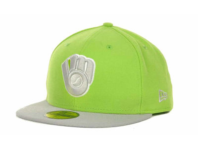 Milwaukee Brewers MLB POP Series 59FIFTY Cap Hats
