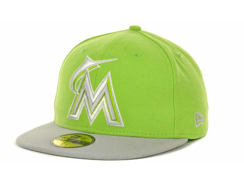 Miami Marlins New Era MLB POP Series 59FIFTY Cap Hats