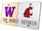 Washington Huskies House Divided Laser Tag Auto Accessories