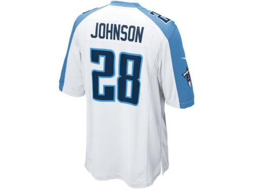 Tennessee Titans Chris Johnson Nike NFL Game Jersey