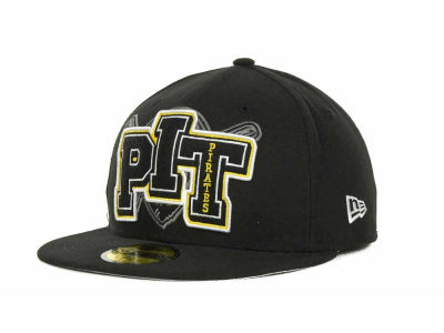 Pittsburgh Pirates MLB Feltn 59FIFTY Cap Hats