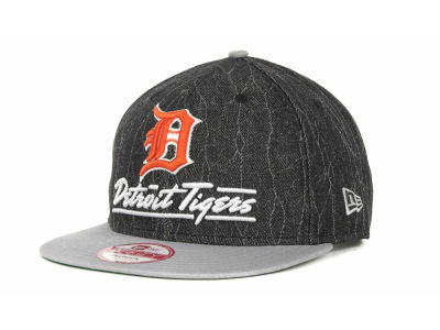 Detroit Tigers MLB Lightning Strike Snapback 9FIFTY Cap Hats