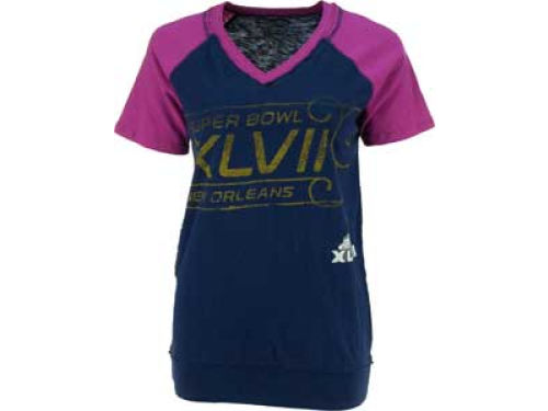 Super Bowl XLVII GIII NFL Super Bowl XLVII Womens Pinch Hitter Top 2
