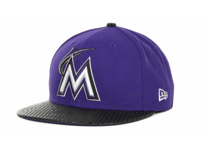 Miami Marlins MLB Tonal Dot Visor 59FIFTY Cap Hats