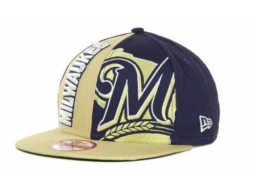 Milwaukee Brewers New Era MLB NC Snapback 9FIFTY Cap Hats
