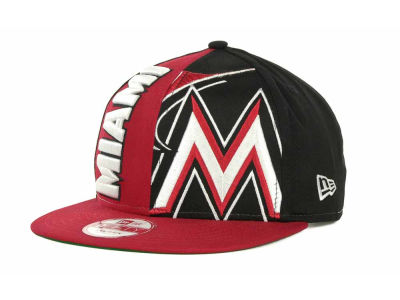 Miami Marlins MLB NC Snapback 9FIFTY Cap Hats