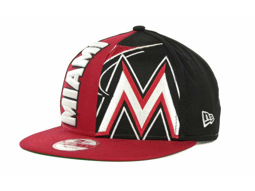 Miami Marlins New Era MLB NC Snapback 9FIFTY Cap Hats