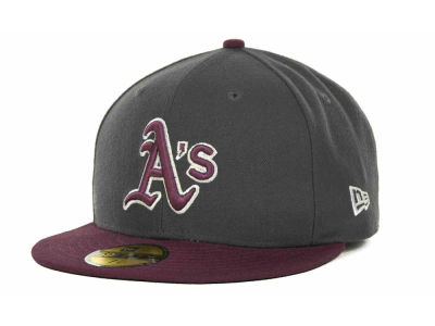 Oakland Athletics MLB 2 Tone Basic 59FIFTY Cap Hats