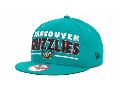 Vancouver Grizzlies NBA Retro Sting Snapback 9FIFTY Cap Hats