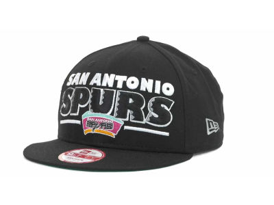San Antonio Spurs NBA Retro Sting Snapback 9FIFTY Cap Hats