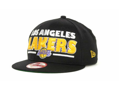 Los Angeles Lakers NBA Retro Sting Snapback 9FIFTY Cap Hats