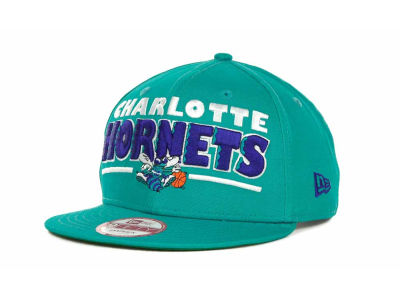 Charlotte Hornets NBA Retro Sting Snapback 9FIFTY Cap Hats