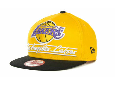 Los Angeles Lakers NBA Lightning Strike 9FIFTY Cap Hats