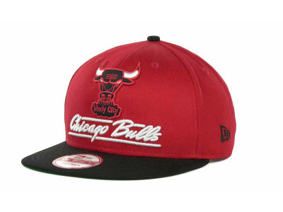 Chicago Bulls NBA Lightning Strike 9FIFTY Cap Hats