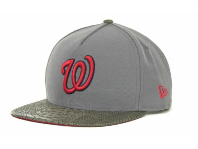 Washington Nationals MLB Snake Strapback 9FIFTY Cap Hats