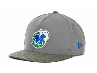 Dallas Mavericks NBA Hardwood Classics Snake Strapback 9FIFTY Cap Hats