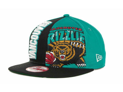 Vancouver Grizzlies NBA NC Snapback 9FIFTY Cap Hats