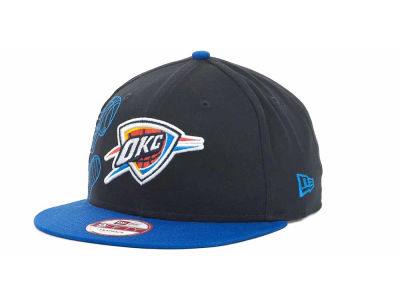Oklahoma City Thunder NBA Side Team Up Snapback 9FIFTY Cap Hats