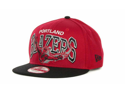 Portland Trail Blazers NBA Chalk Up Hero Snapback 9FIFTY Cap Hats