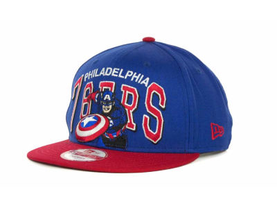 Philadelphia 76ers NBA Chalk Up Hero Snapback 9FIFTY Cap Hats