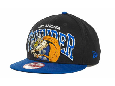 Oklahoma City Thunder NBA Chalk Up Hero Snapback 9FIFTY Cap Hats