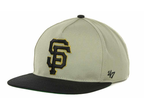 San Francisco Giants '47 Brand MLB Natural 2T Strapback Cap Hats