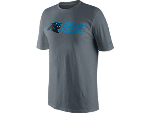 Carolina Panthers Nike NFL Base Authentic Logo T-Shirt
