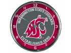 Washington State Cougars Wincraft Chrome Wall Clock Home Office & School Supplies