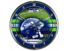 Seattle Seahawks Wincraft Chrome Wall Clock Home Office & School Supplies