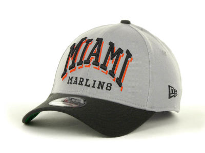 Miami Marlins MLB Arch Mark Classic 39THIRTY Cap Hats