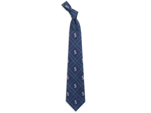 Seattle Mariners Eagles Wings Necktie Woven Poly 2